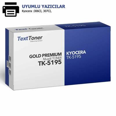 Kyocera TK-5195 Muadil Fotokopi Toneri, Mavi
